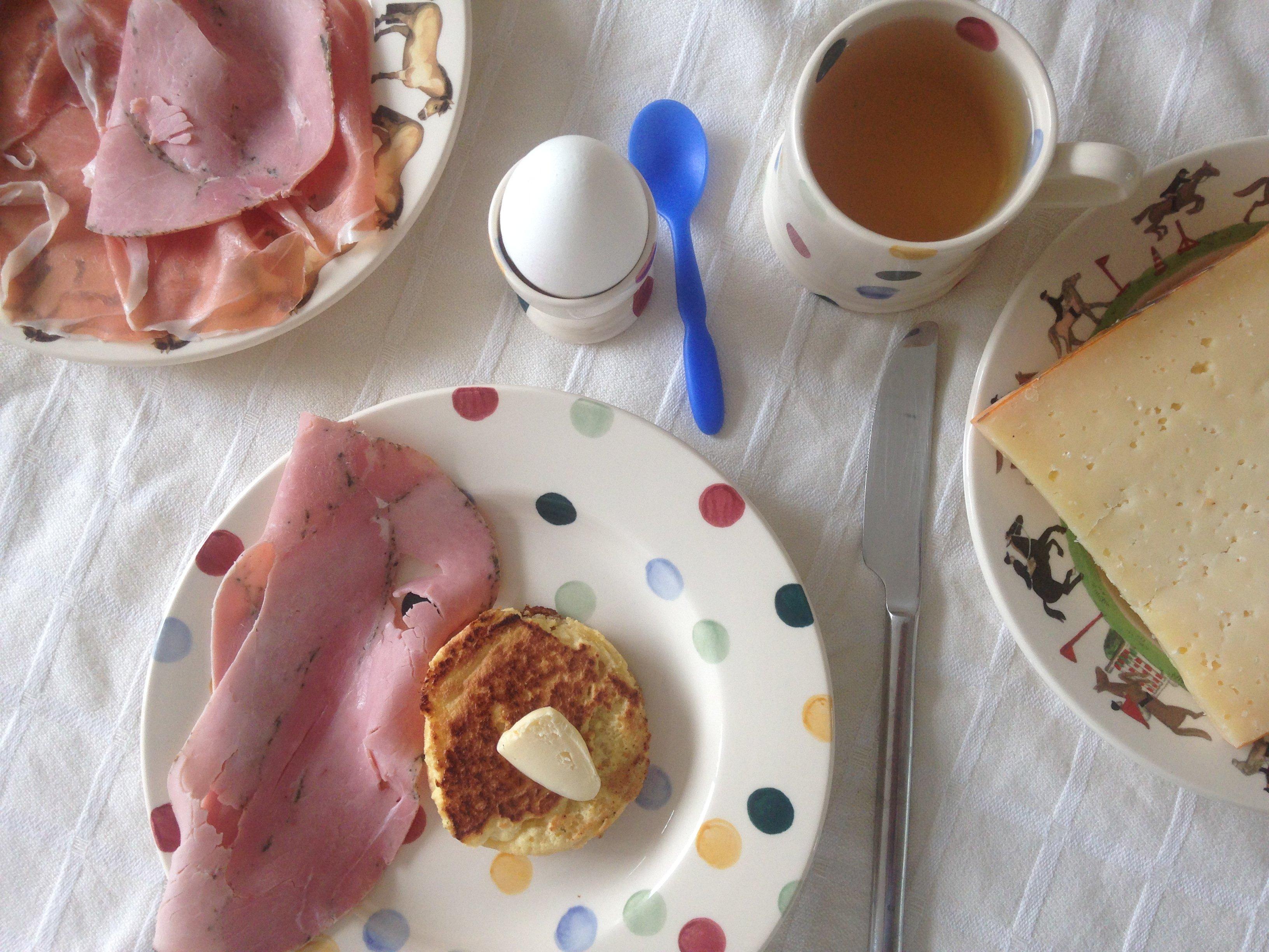 Keto ontbijt: Engelse muffins