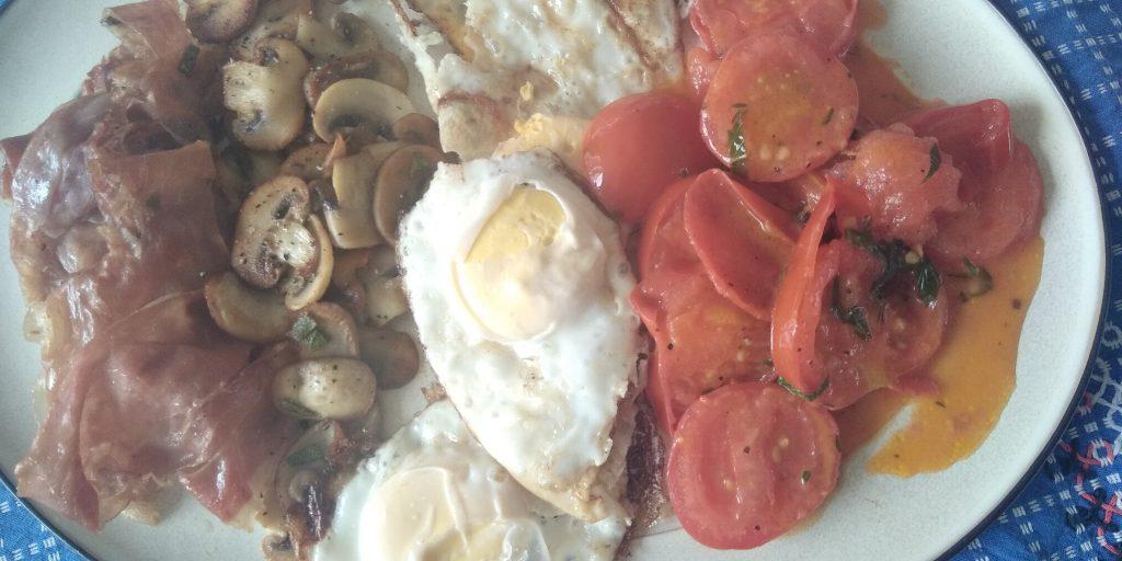 Engels ontbijt keto stijl