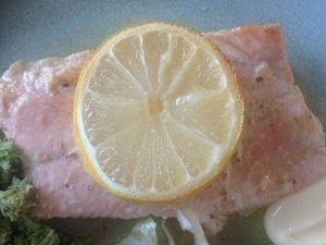 Omega 3: zalm met citroen