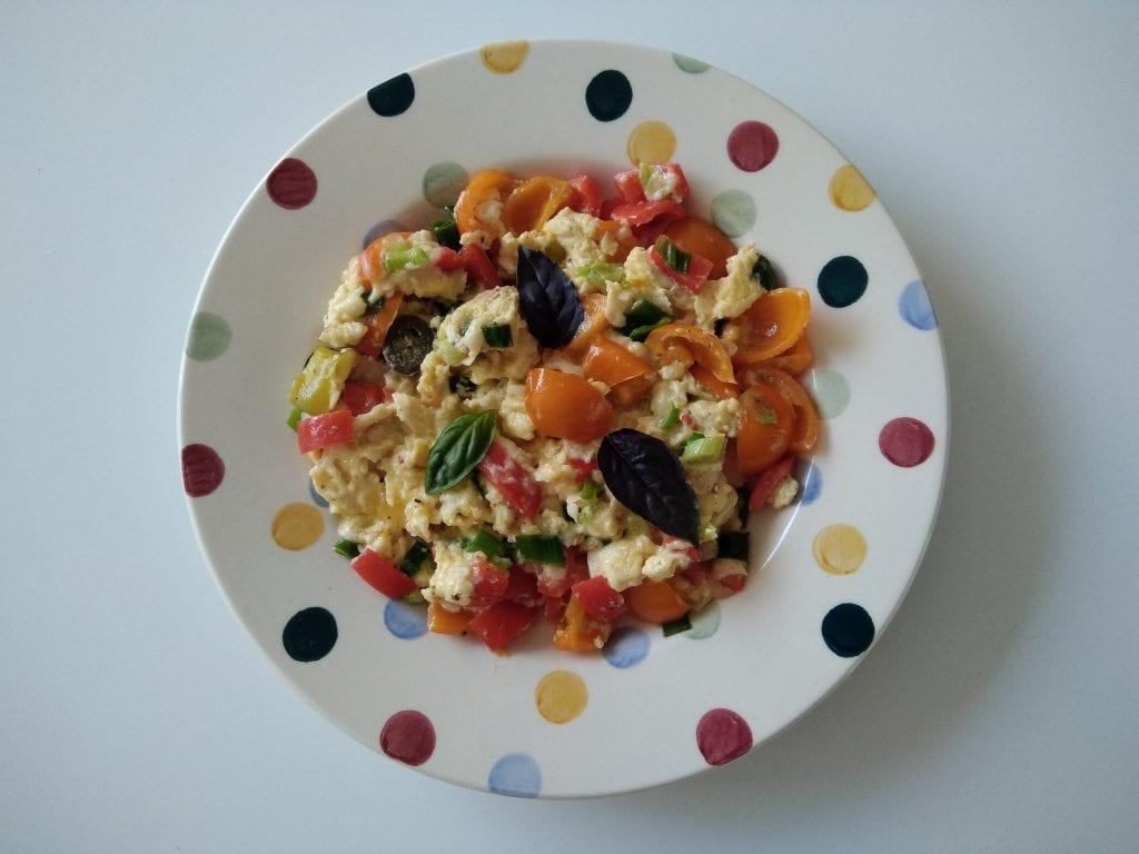 Keto: Mexicaanse groenten omelet