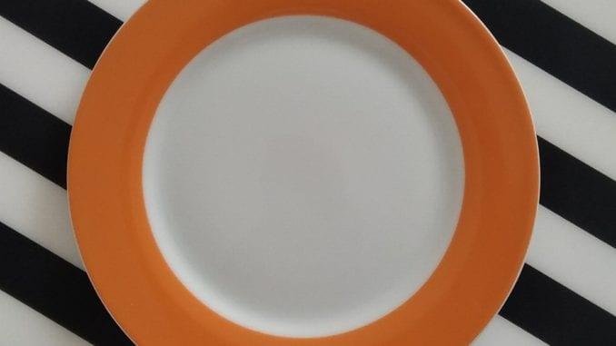 Vasten op een keto dieet, ja het bord is even leeg!