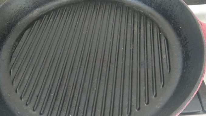 Le Creuset grillpan