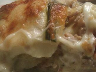 Echte keto lasagna